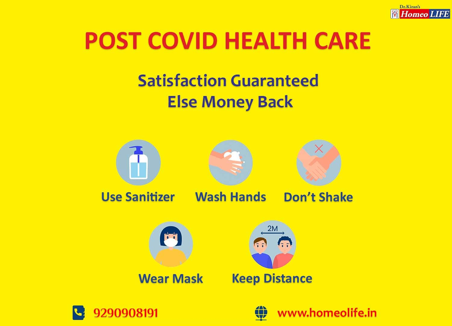 Post-Covid care and Normal life