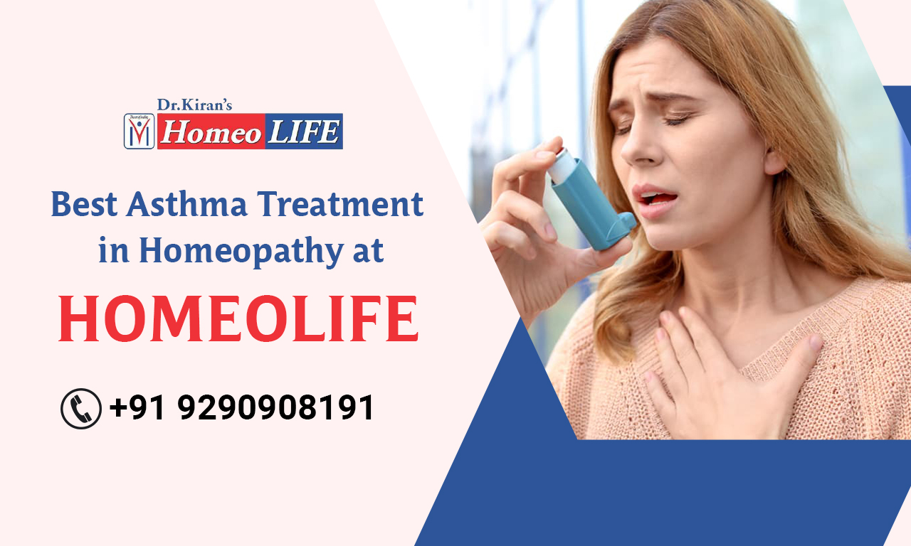 Best Asthma Treatment in Homeopathy at Homeo Life