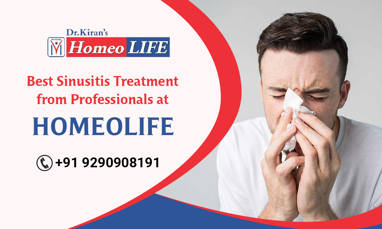 Best Sinusitis Treatment from Professionals at Homeo Life