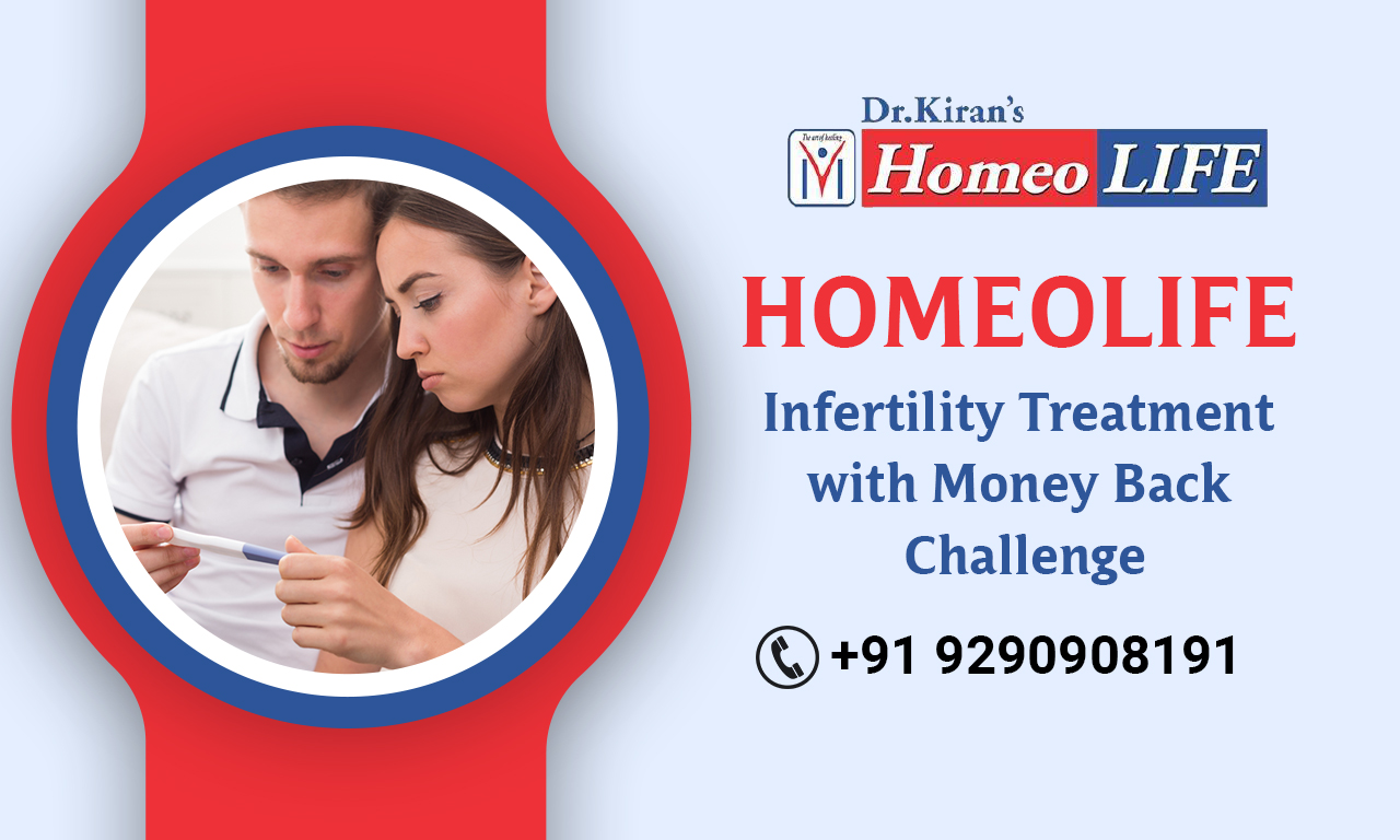 Homeo Life Infertility Treatment with Money Back Challenge